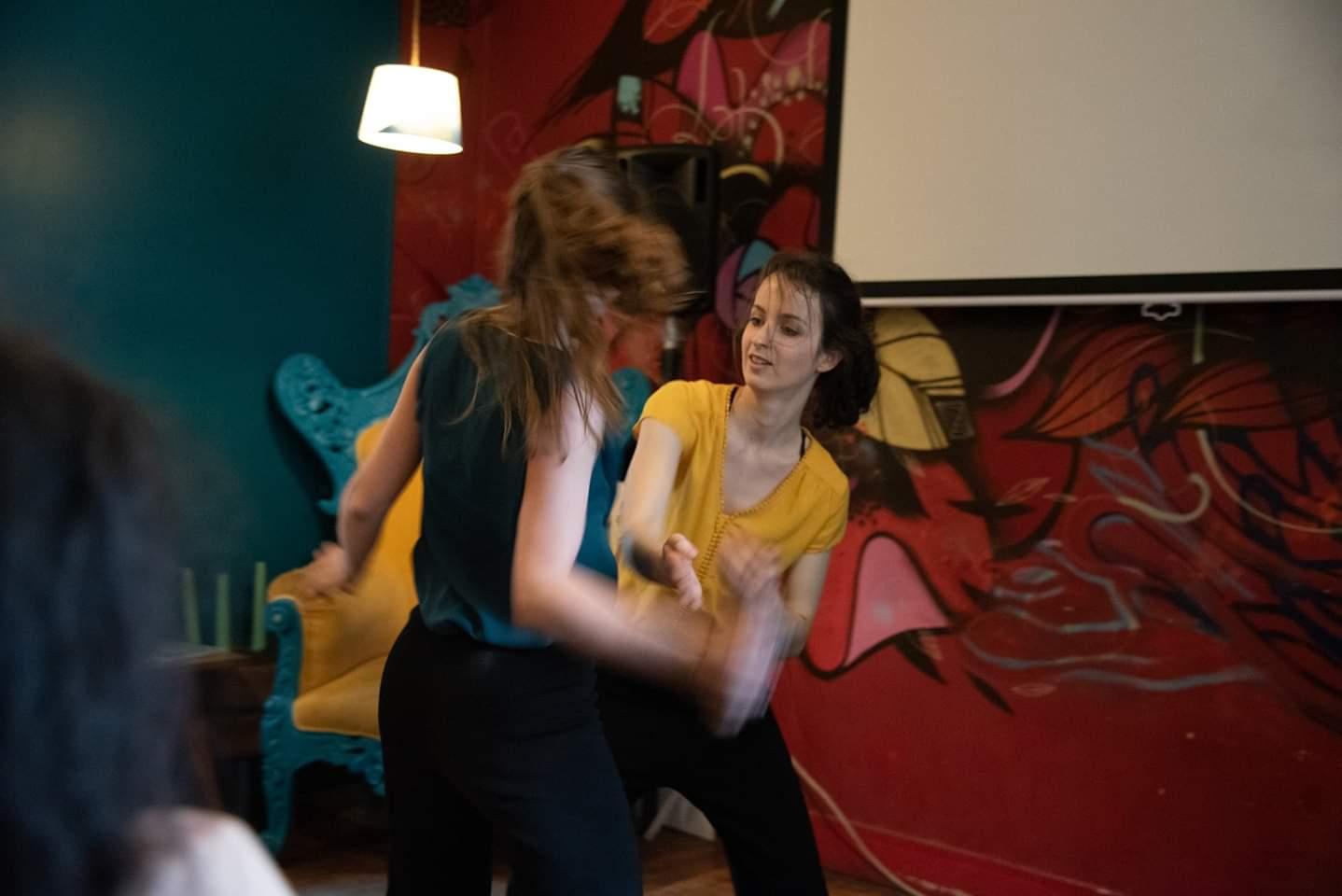 danse improvisé