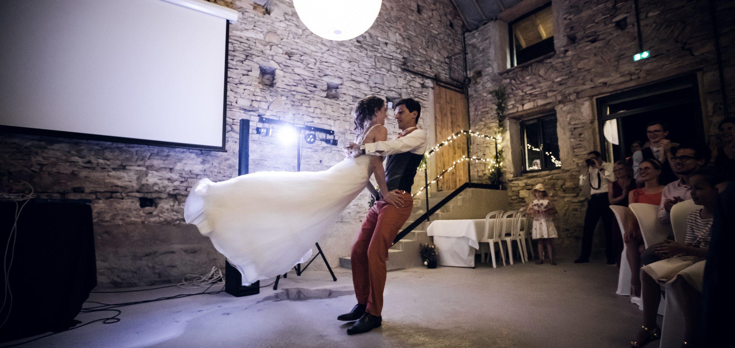Ouverture de bal danse de mariage