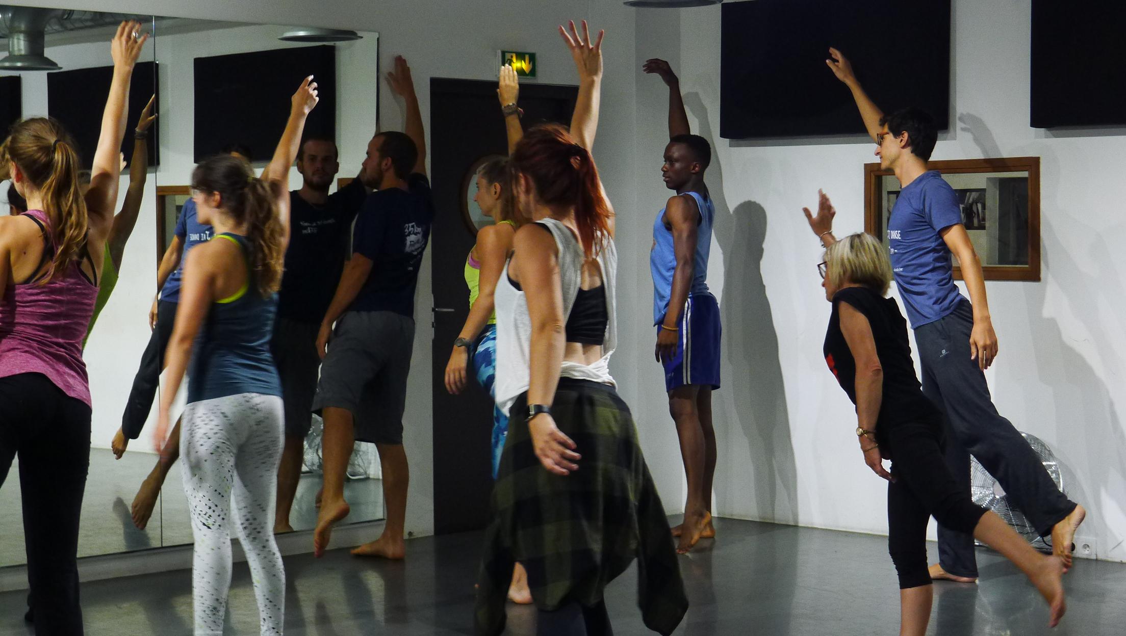 Stage de danse avec Mouvement et Compagnie