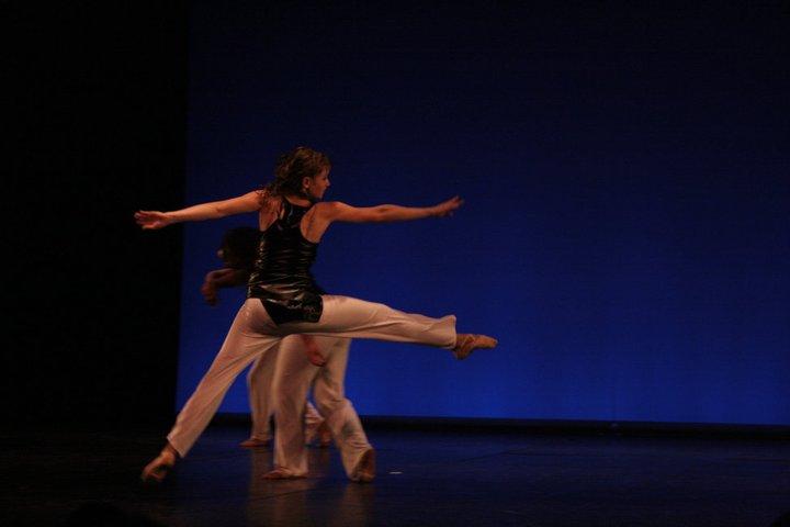 Spectacle de danse avec Marjorie Lempereur
