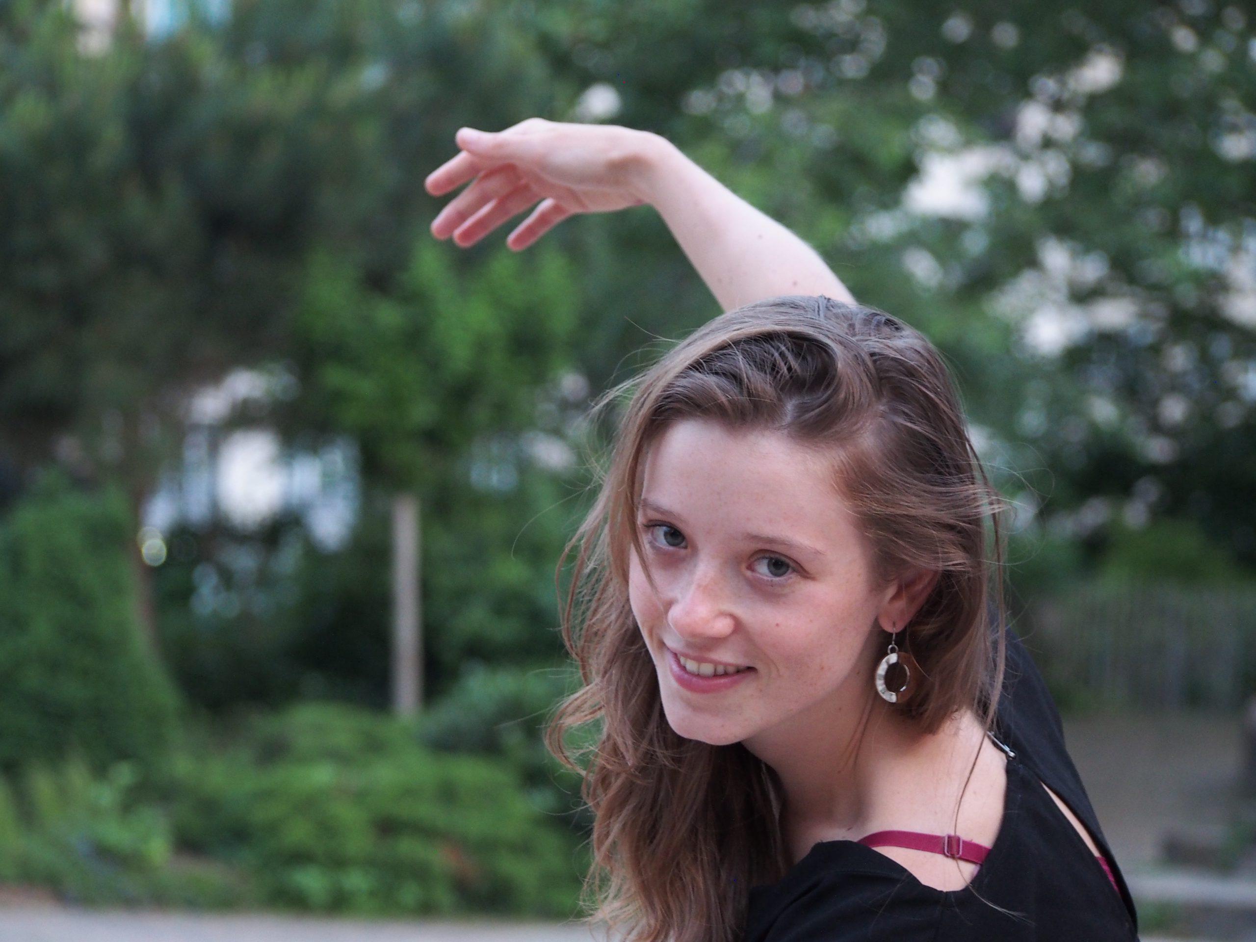 Marjorie Lempereur, professeure de danse sur Montpellier