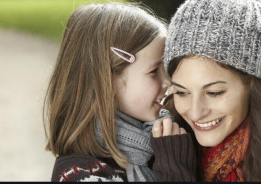 Bonne resolution avec son enfant
